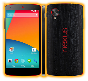 Nexus 5 - Hybrid Elements Skins / Wraps