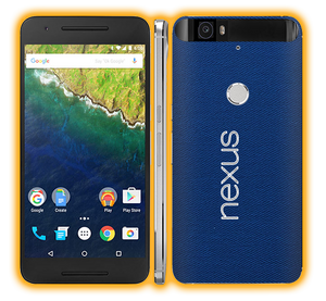 Nexus 6p - Hybrid Elements Skins / Wraps