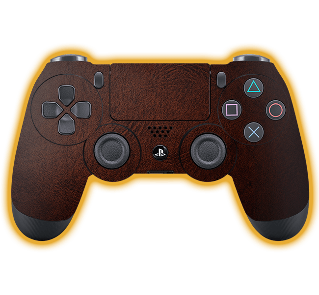 PS4 - Leather Skins / Wraps