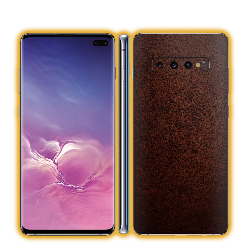 Galaxy S10 Plus - Leather Skins / Wraps