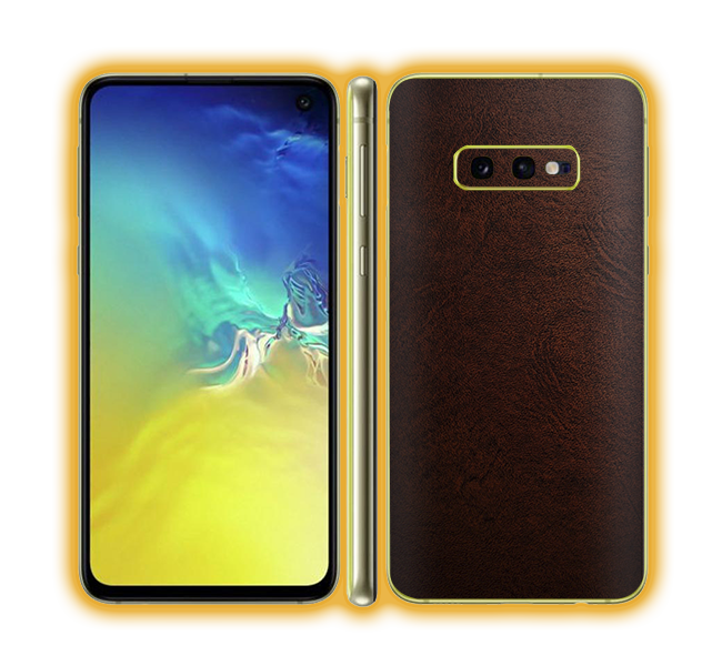 Galaxy S10e - Leather Skins / Wraps
