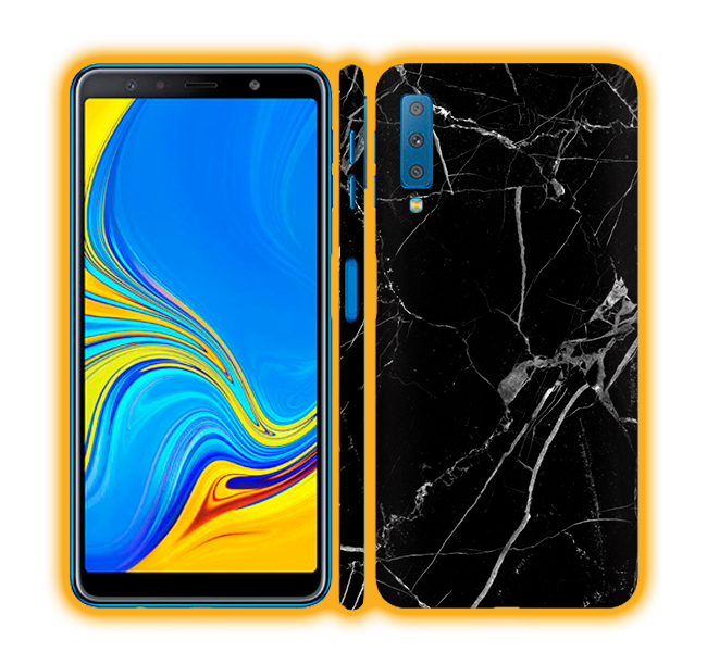 Galaxy A7 (2018) - Marble Skins / Wraps