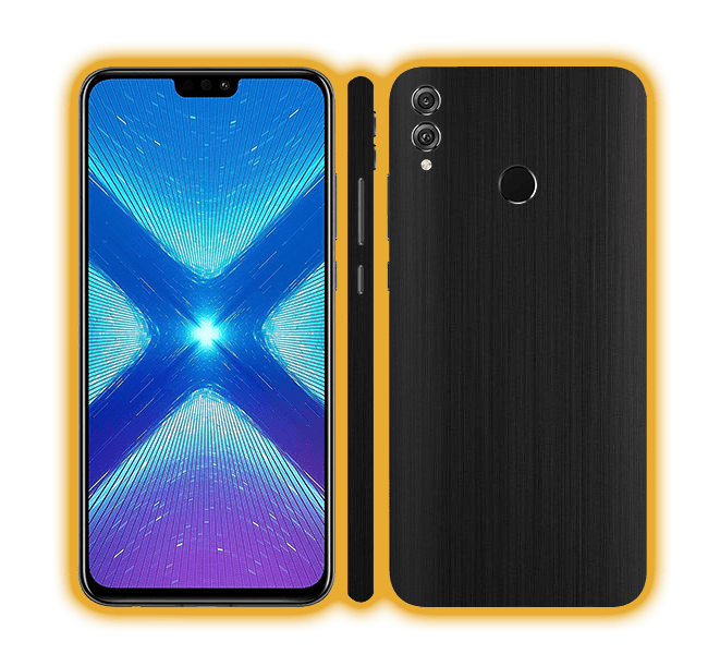 Honor 8X - Brushed Metal Skins / Wraps