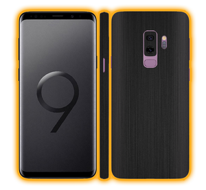 Samsung Galaxy S9 Plus - Brushed Metal Skins / Wraps