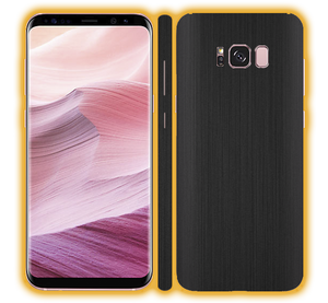 Samsung Galaxy S8 Plus - Brushed Metal Skins / Wraps