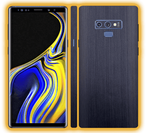 Samsung Galaxy Note 9 - Brushed Metal Skins / Wraps