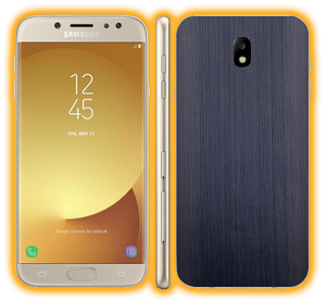 Galaxy J7 Pro - Brushed Metal Skins / Wraps
