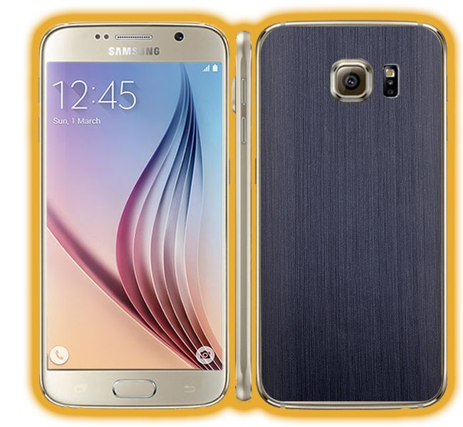 Galaxy S6 - Brushed Metal Skins / Wraps