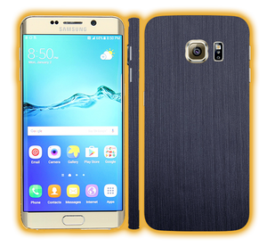 Galaxy S6 Edge - Brushed Metal Skins / Wraps