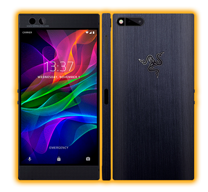 Razer Phone  - Brushed Metal Skins / Wraps