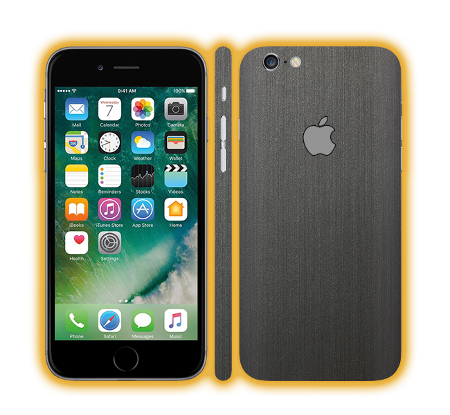 iPhone 6 Plus - Brushed Metal Skins / Wraps