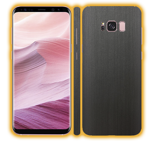 Galaxy S8 - Brushed Metal Skins / Wraps