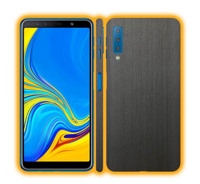 Galaxy A7 (2018) - Brushed Metal Skins / Wraps