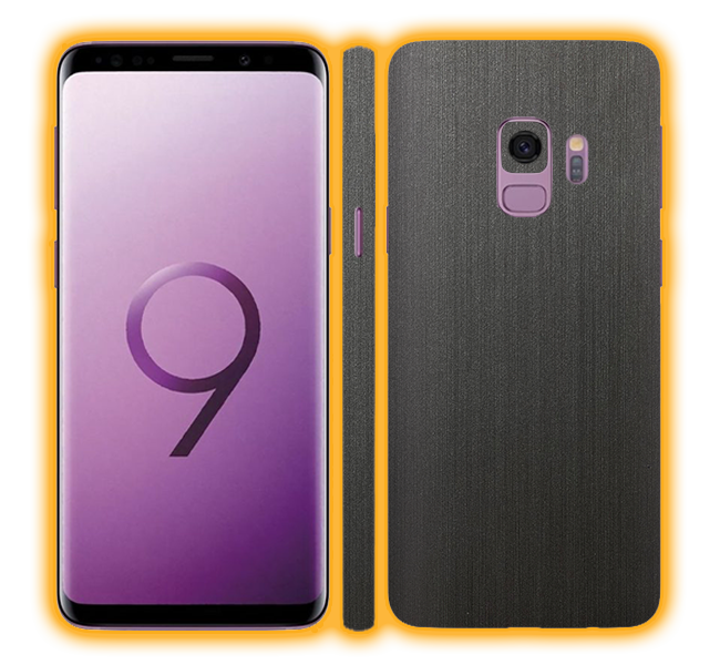 Galaxy S9 - Brushed Metal Skins / Wraps