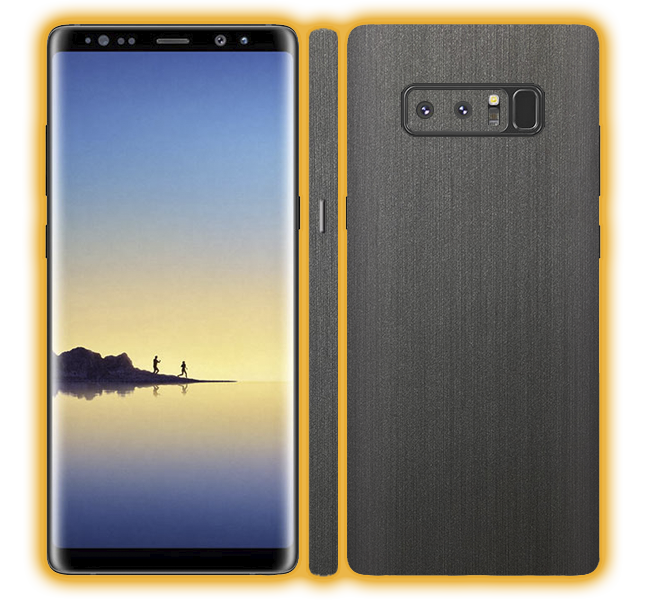 Galaxy Note 8 - Brushed Metal Skins / Wraps