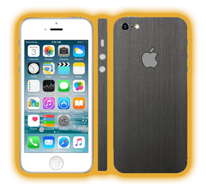 iPhone 5 - Brushed Metal Skins / Wraps