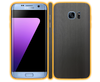 Samsung Galaxy S7 Edge - Brushed Metal Skins / Wraps