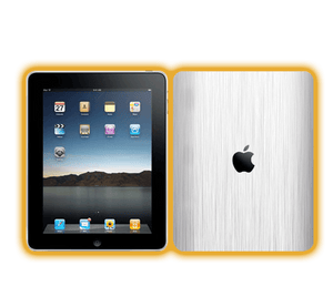 Ipad 1 - Brushed Metal Skins / Wraps