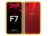 Oppo F7 - Brushed Metal Skins / Wraps