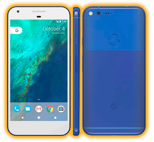 Google Pixel XL - Chrome Matte Skins / Wraps