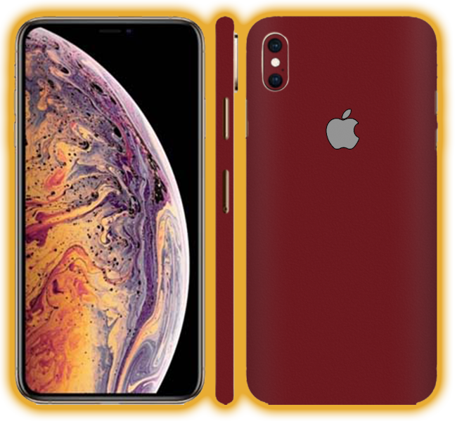 iPhone XS MAX  - Prismatic Colours Skins / Wraps