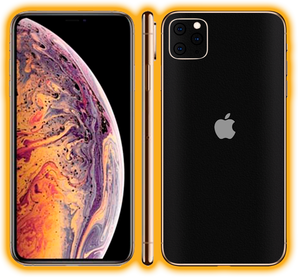 iPhone 11 Pro  - Prismatic Colours Skins / Wraps