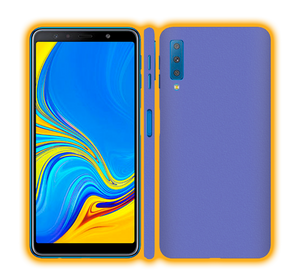 Samsung Galaxy A7 (2018) - Prismatic Colours Skins / Wraps