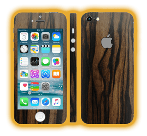 iPhone 5s -  Wood Skins / Wraps