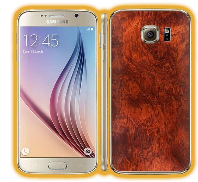 Galaxy S6 - Wood Skins / Wraps