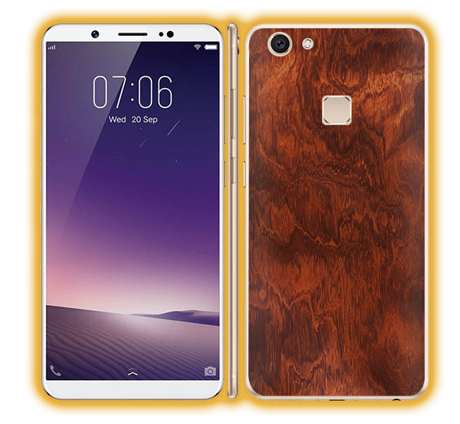 Vivo V7 - Wood Skins / Wraps