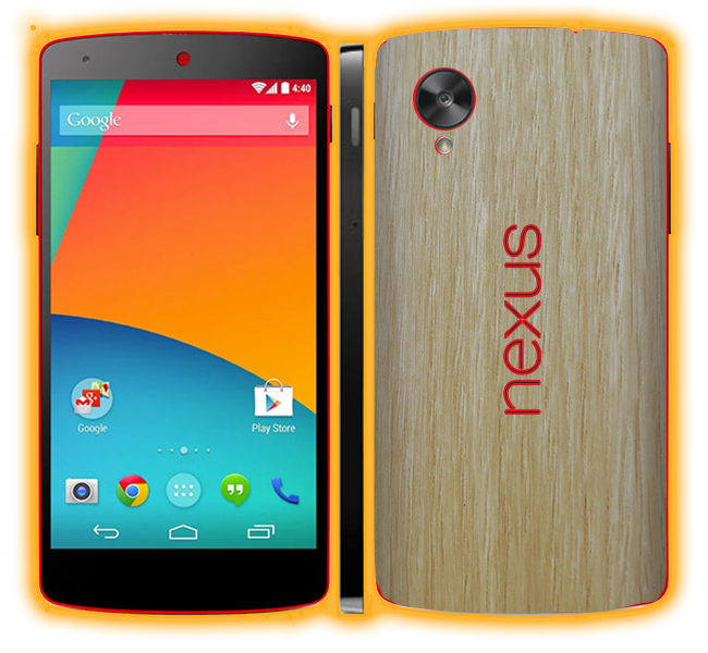 Nexus 5 - Wood Skins / Wraps