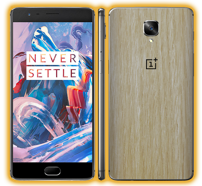 competitive price 38d8f b16f1 OnePlus 3 - Wood Skins / Wraps