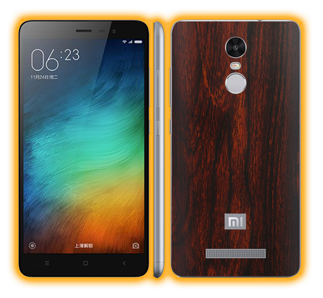 Redmi Note 3 - Wood Skins / Wraps