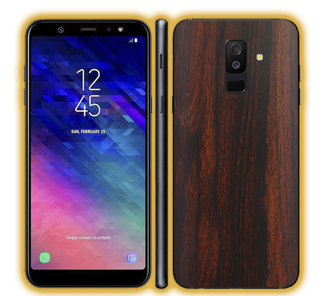 Galaxy A6 Plus - Wood Skins / Wraps