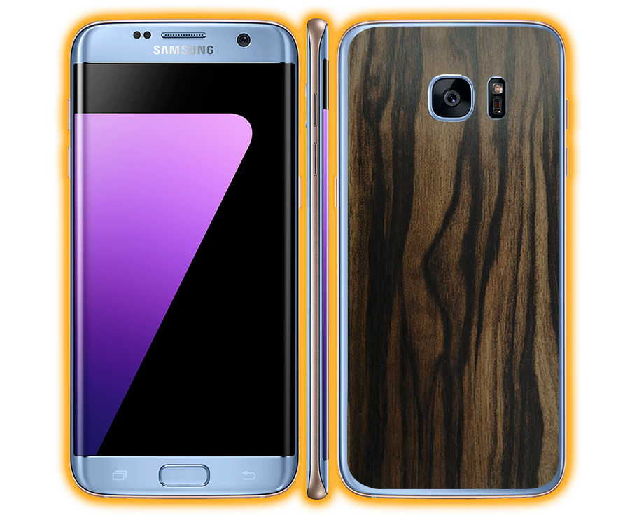 Galaxy S7 Edge - Wood Skins / Wraps