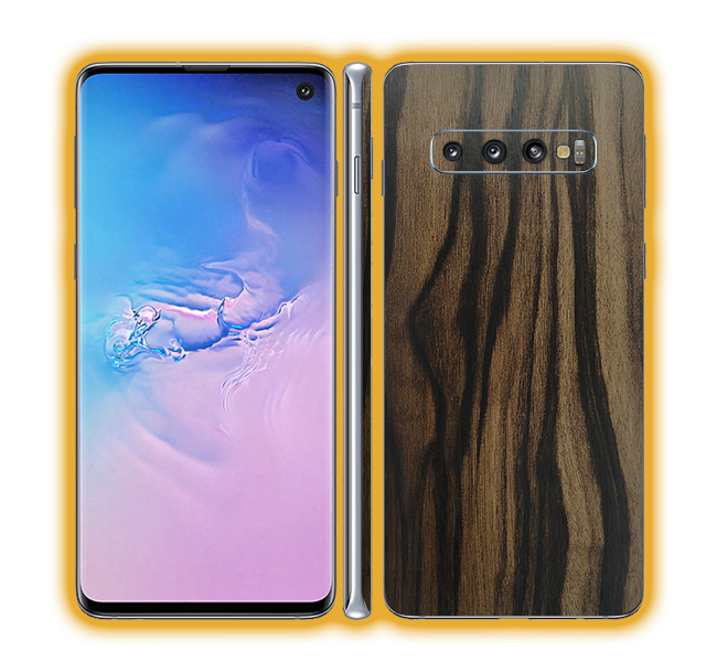 Galaxy S10 - Wood Skins / Wraps