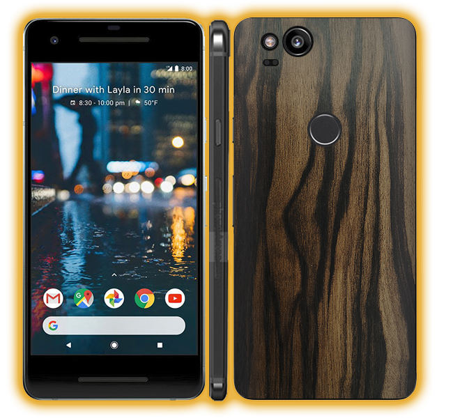 Pixel 2 - Wood Skins / Wraps