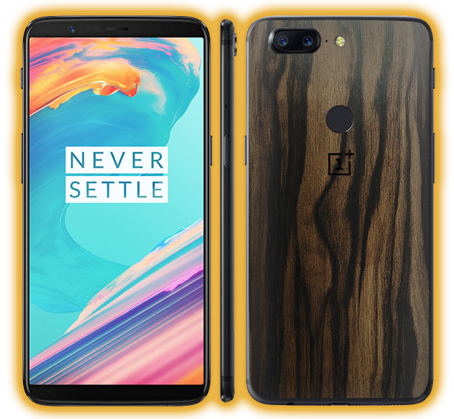 OnePlus 5T - Wood Skins / Wraps