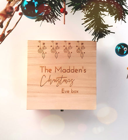 Christmas eve box - Craft Me Pretty (CMP Lasercraft - Perth Laser cutting)