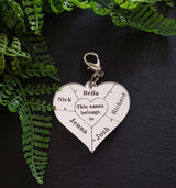 Key ring - Craft Me Pretty (CMP Lasercraft - Perth Laser cutting)