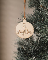 Personalized  name bauble