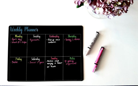 Weekly Planner/ Meal Planner - Craft Me Pretty (CMP Lasercraft - Perth Laser cutting)
