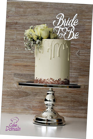 Bride to be cake topper - Craft Me Pretty (CMP Lasercraft - Perth Laser cutting)