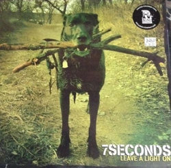 7 Seconds Leave A Light On Lp Sealed Punk Colored Vinyl Rise Records W/ Cd Mint