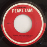 "Pearl Jam Wishlist 7"" 45 Epic Single 1998 Alternative Grunge Vedder U Wish List"