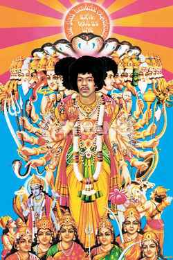 Jimi Hendrix Experience - Axis Bold as Love Poster