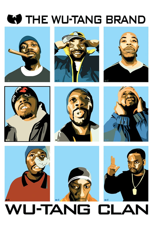 Wu Tang Clan, The  - Brand Poster