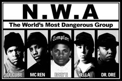 N.W.A. - World's Most Dangerous Group Poster