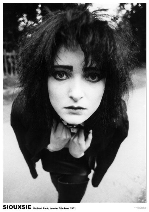Siouxsie Sioux - London 1981 Poster