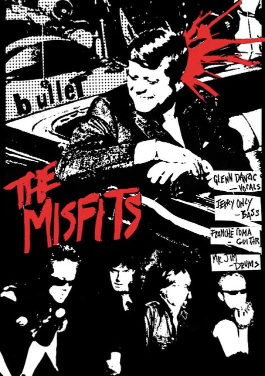 Misfits, The - Bullet Poster 24